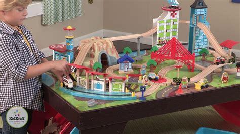 kidkraft table set kidkraft aero city set table