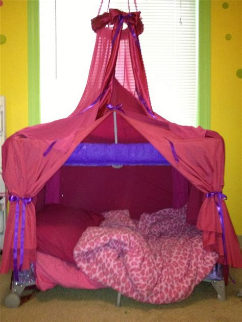 Toddler Bed Made From Pack N Play Kids Pinterest
