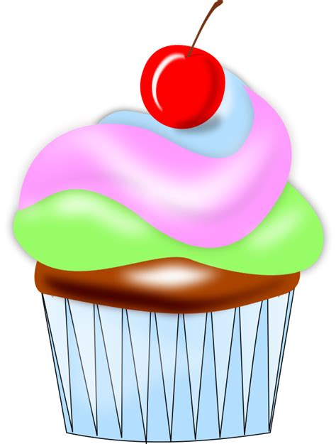 Free Cupcake Clip Art Pictures - Clipartix Free Clipart Cupcakes