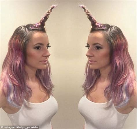 youtuber venus angelic releases tutorial on unicorn hair