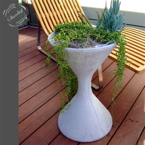 awesome mid century modern outdoor planters home