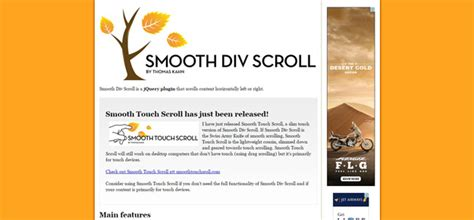 scroll div 15 jquery horizontal scroll plugins code geekz
