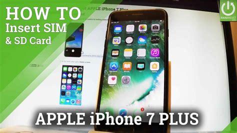 insert sim  apple iphone   install nano sim card youtube