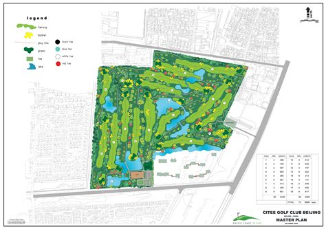 Of New Master Mba Course Plan by Citee Golf Club Beijing Beijing Pacific Coast Design
