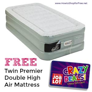 free air mattress how to shop for free with kathy spencer