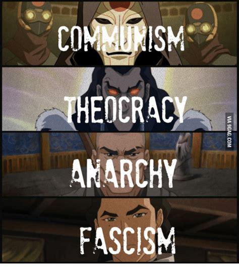 Anarchist Memes - communism edcracy anarchy fascism communism meme on me me
