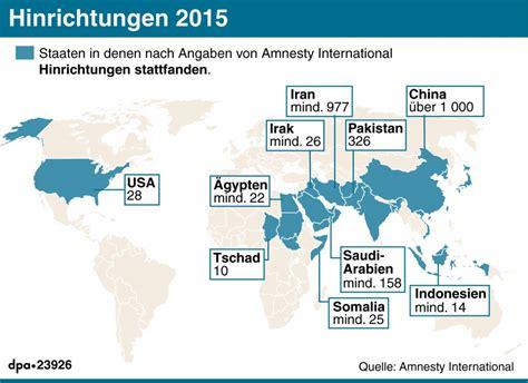 seit wann gibt es die todesstrafe amnesty international china ist tophenker der welt