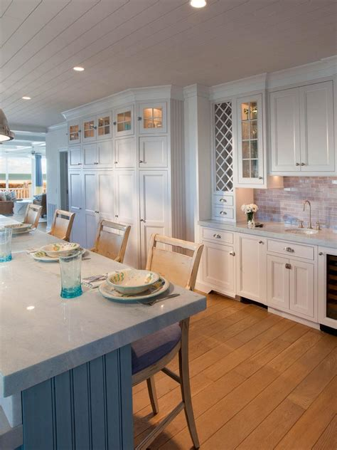 white coastal kitchen pictures by the serene seaside hgtv