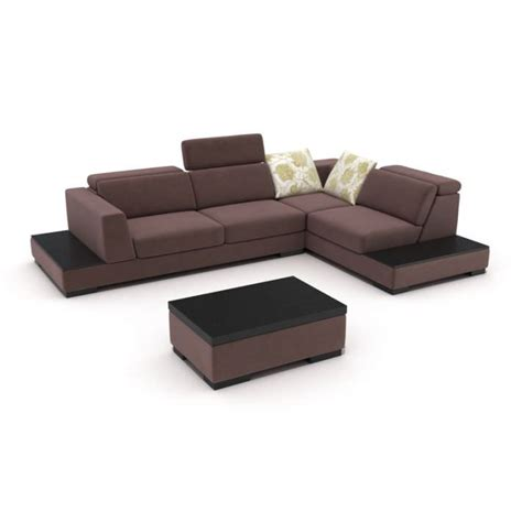 purple sectional purple modern sectional 3d model cgtrader com
