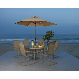Garden Oasis Long Beach 7pc Patio Dining Set   Outdoor Living   Patio Furniture   Dining Sets