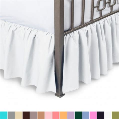 split corner bed skirt split corner bed skirt shopbedding com