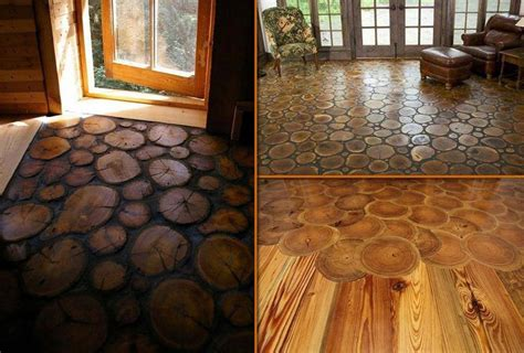 cabin floor log cabin flooring an original floor idea garden