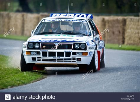 b lancia delta integrale rally car at goodwood