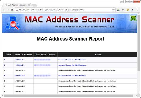 Local Address Search Directory Scanner