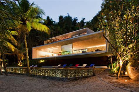 brazilian homes modern beach house on the brazilian coast idesignarch