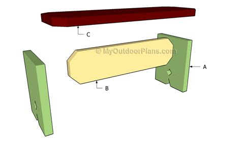 building a simple bench how to build a simple bench myoutdoorplans free woodworking plans and projects