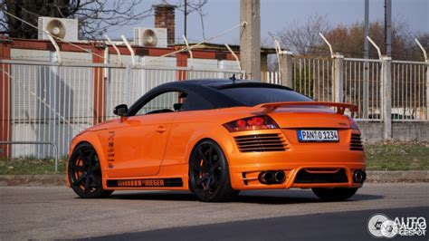 Audi Rieger by Audi Rieger Tt Rs 29 Marzo 2012 Autogespot