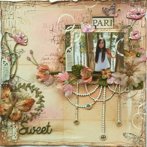 tutorial scrapbook vintage the dusty attic blog sweet gabrielle pollacco video