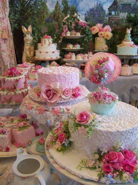 beautiful easter cakes lovely sweet things pinterest