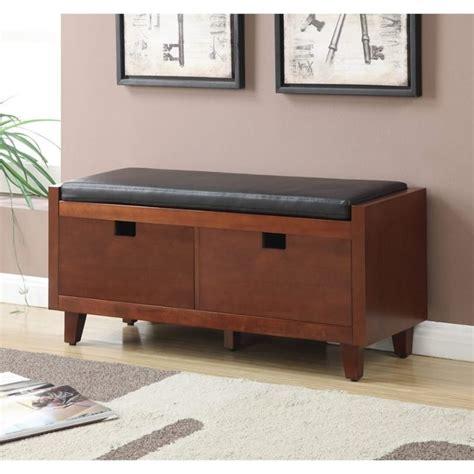 mahogany storage bench baron storage bench in mahogany 7104070
