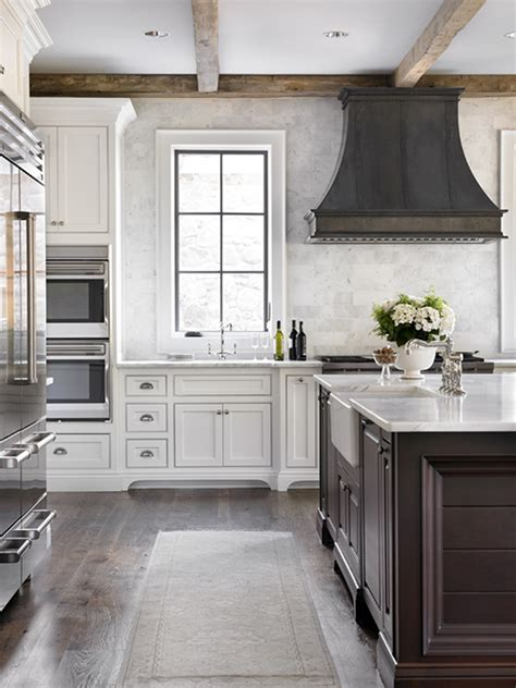 Zinc Kitchen Hood   Transitional   kitchen   L. Kae Interiors