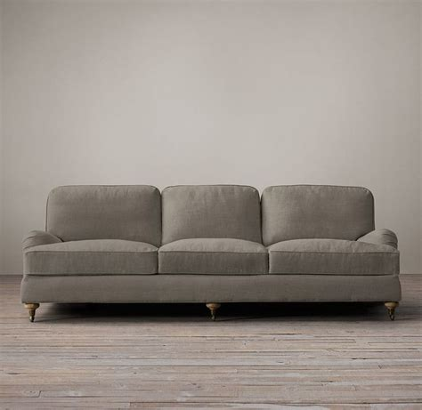 restoration hardware fabric sofas roll arm upholstered sleeper sofa restoration