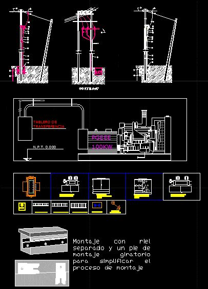 blocks electricity dwg block  autocad designs cad
