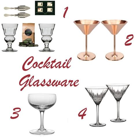 pimp your cocktail glassware and bar accessories for