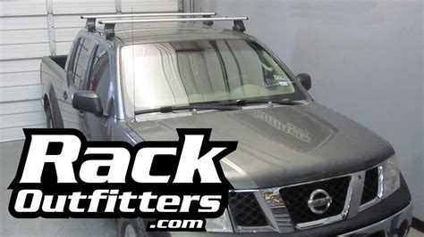nissan frontier thule rapid traverse silver aeroblade roof