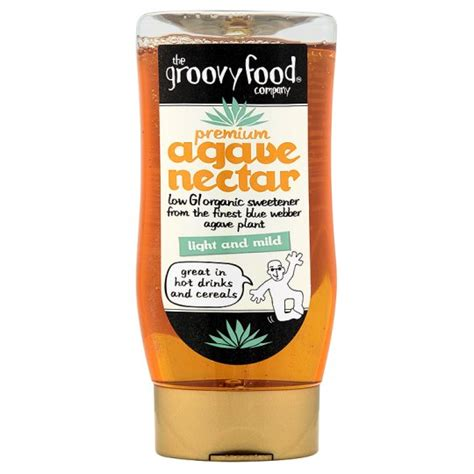groovy food agave nectar 250ml groceries tesco groceries