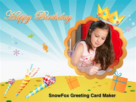 Birthday Cards Maker Snowfox Greeting Card Maker Here To Make Greeting Cards Easily