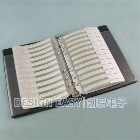 smd resistor kit ebay 0201 smd resistor kit 106values x50pcs 5300pcs smt assortment pack box book ebay