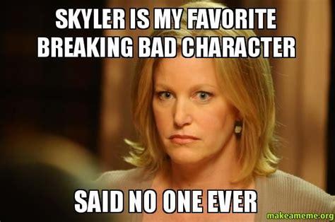 Skyler Meme - best 25 breaking bad meme ideas on pinterest