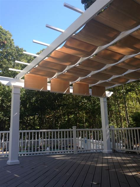 pergola canopy fabric trex pergola kit with canopy island new york