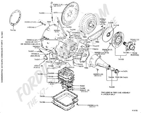 transmission parts diagram ford truck technical drawings and schematics section g