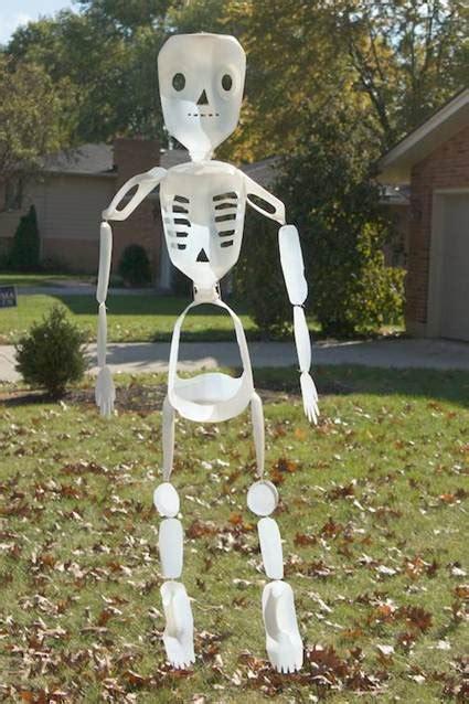 halloween decorations diy recycled materials blog skeleton ecoblogic