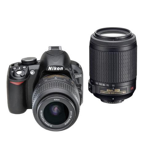 Nikon D3100 Vr nikon d3100 dslr 18 55mm vrii 55 200mm vr