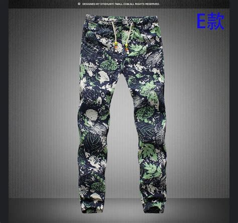 cheap patterned joggers 2017 wholesale mens casual drawstring floral joggers