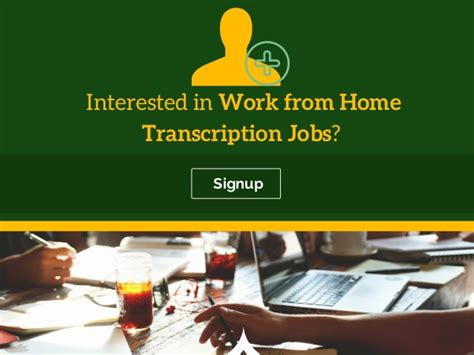 go green with work from home transcription