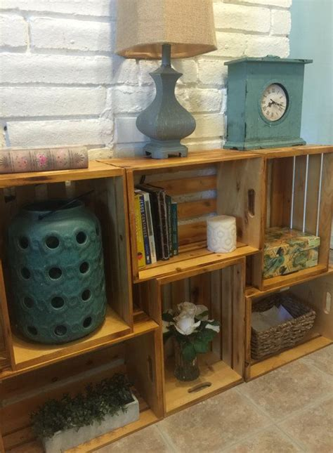 wooden crate shelves 25 best wood crate shelves ideas on crates