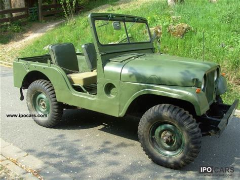 56 Jeep Willys 1956 Jeep Willys Car Photo And Specs