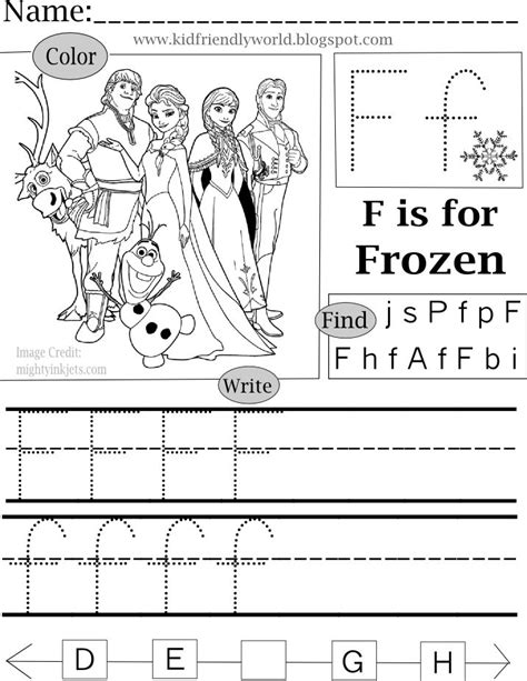 printable elsa puzzle a kid friendly world f is for frozen free pre k printable