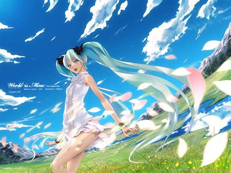 Anime World Lyrics by ワールドイズマイン Supercell