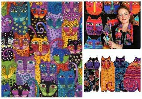 laurel burch felines meow cats inspired by laurel burch young art love