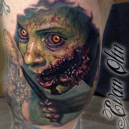 evil dead tattoo evan olin tattoonow 2014