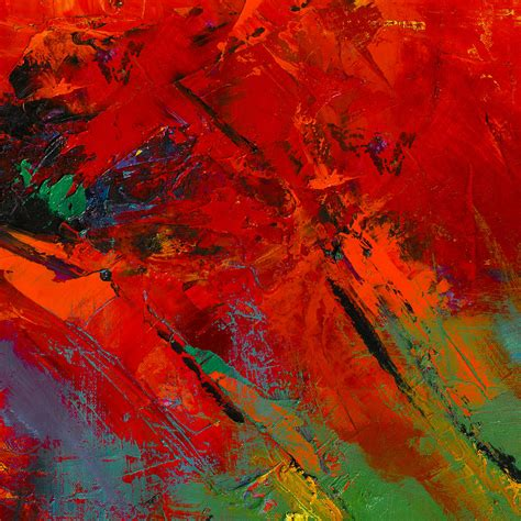 red mood red mood painting by elise palmigiani