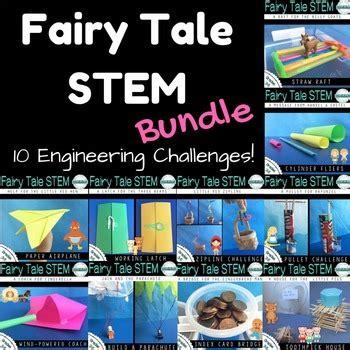 fairy tale stem mega bundle     worksheet tpt