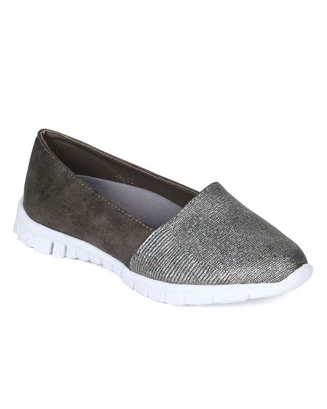 Nestela Texture Platform Slip On shoes nature cd40 metallic snakeskin almond