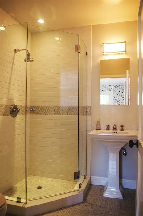 Bathroom Glass Shower Ideas Best Corner Showers Bathroom Ideas On Corner