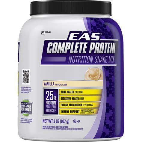 protein powder walmart eas complete protein powder vanilla 2 lbs walmart